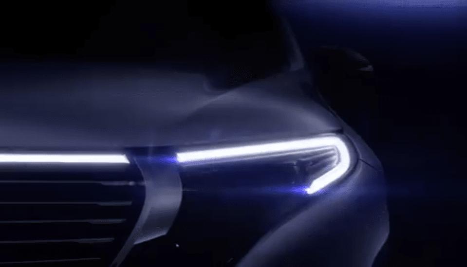 Daimler анонсировал выход электрокросса Мерседес Бенс EQC