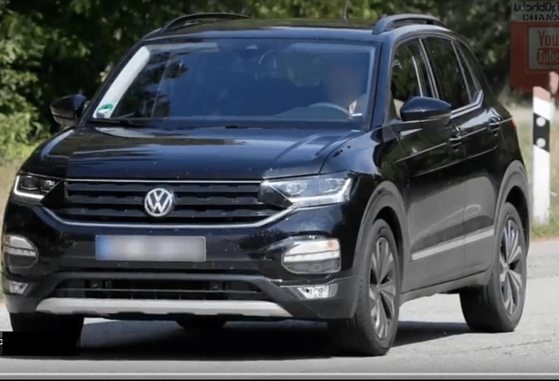 Новому VW T-Cross придали «товарный» вид