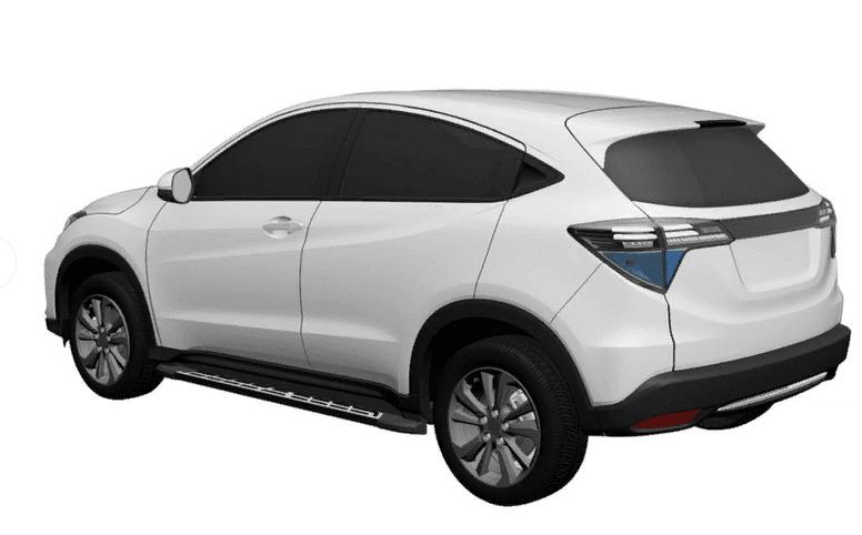 Хонда запатентовала новый кроссовер набазе Хонда HR-V