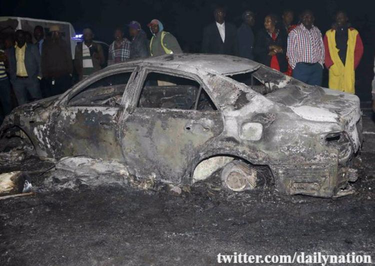 ВКении неменее 10 человек могли стать жертвами взрыва автоцистерны сбензином