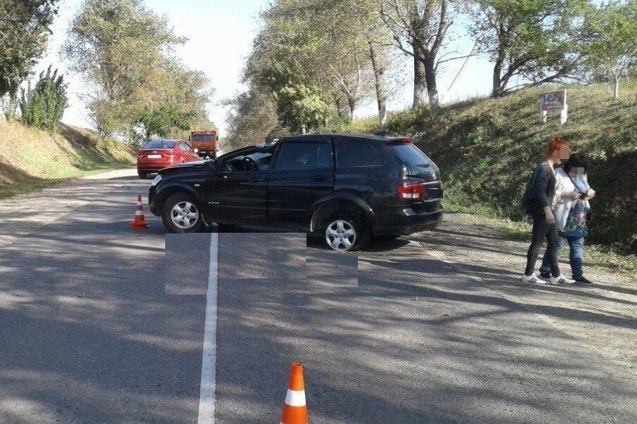 НаКубани шофёр иномарки умер, когда намашину свалилось дерево