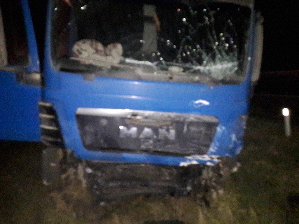 ВАбинском районе один человек умер при столкновении легковушки с грузовым автомобилем