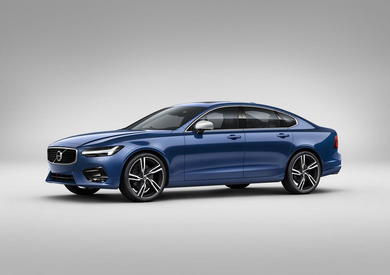 Volvo представила S90 и V90 в версии R-Design