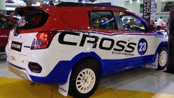 Datsun презентовал раллийную версию кроссовера Datsun Cross Rally