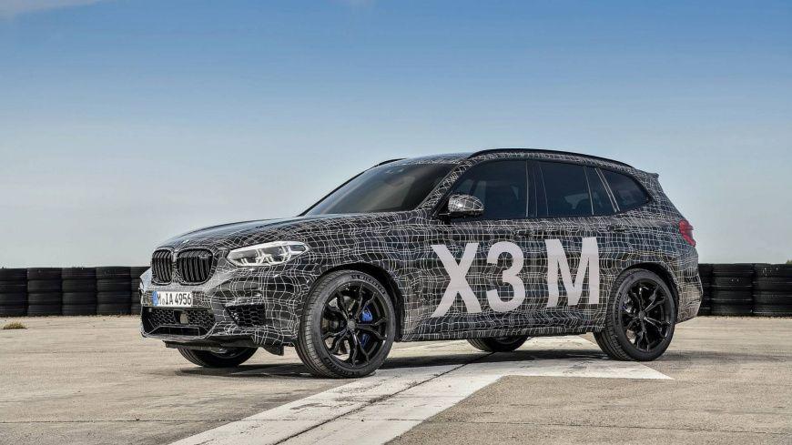 BMW официально показал версии X3 M и X4 M