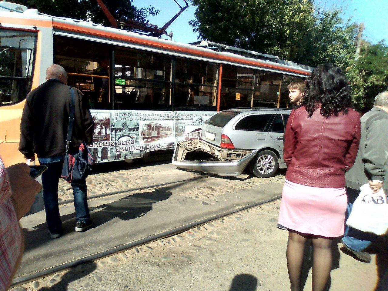 ВСамаре из-за трагедии напутях парализовало движение трамваев