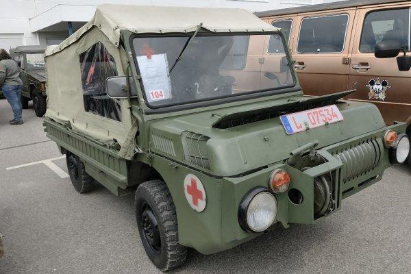 ВГермании на реализацию выставлен необычайный вседорожный автомобиль «ЛуАЗ-967» без пробега