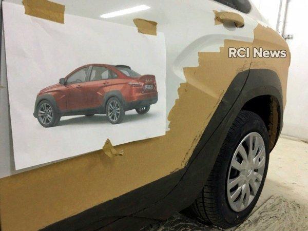 Началась разработка Лада Vesta Rally Sprint