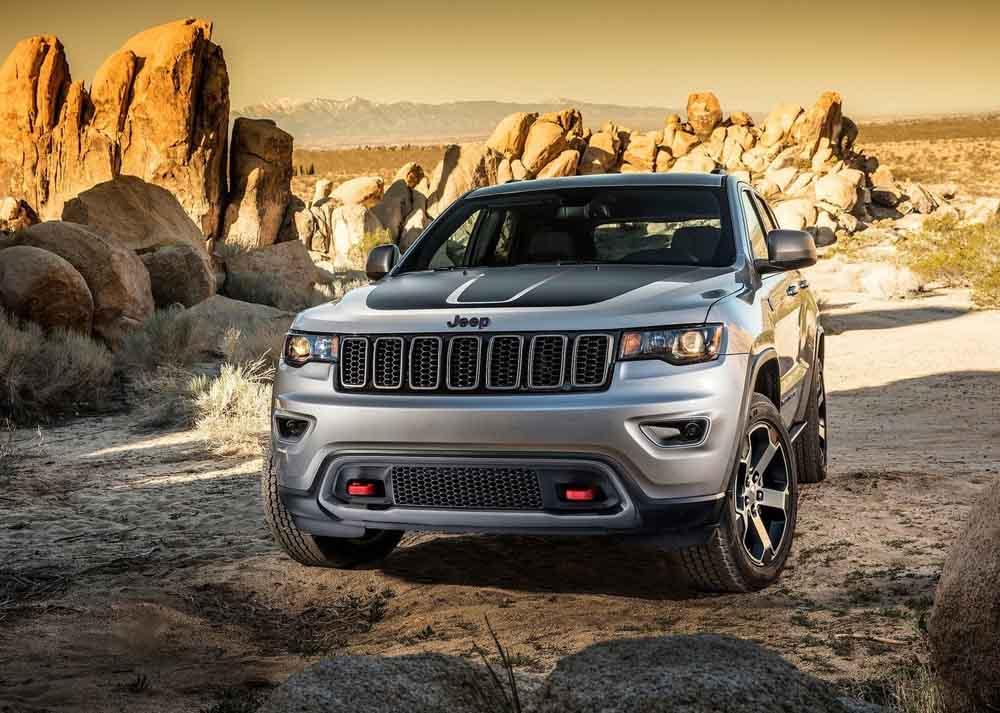 Jeep отправляет наремонт в РФ модель Grand Cherokee