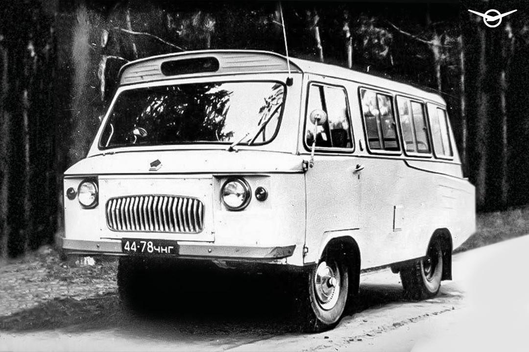 УАЗ напомнил омикроавтобусе набазе «буханки»