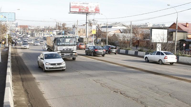ВКраснодаре наТургеневском мосту начались ремонтные работы