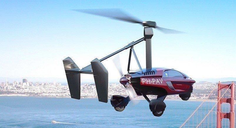 ВЖеневе покажут серийный летающий автомобиль PAL-V