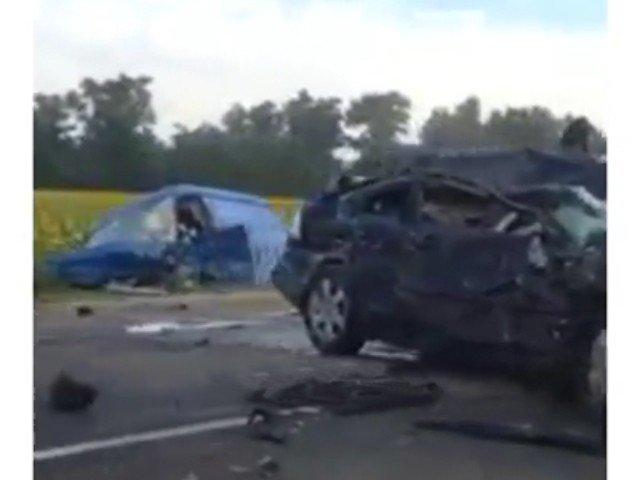 ВКраснодарском крае вДТП с«Газелью» погибли три человека