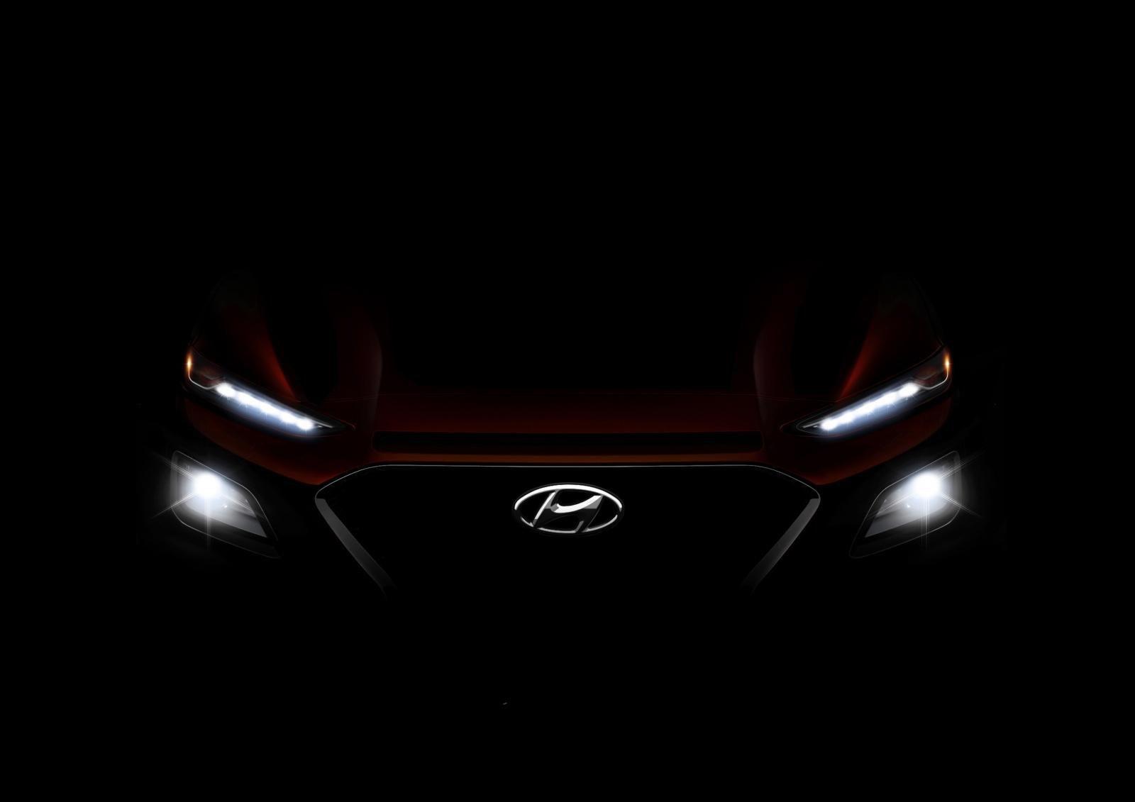 Компания Hyundai приоткрыла внешность нового компактного кроссовера