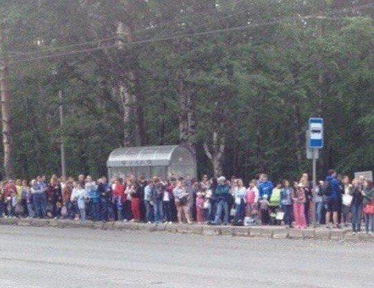 ВНовороссийске забастовка маршрутчиков вызвала транспортный коллапс