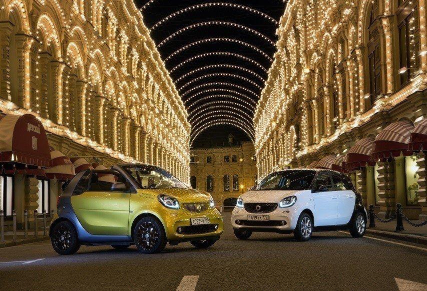 Автомобили smart станут доступны в России в «Особой серии»