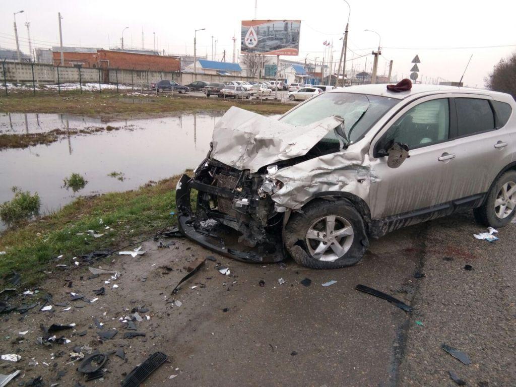 21-летний шофёр БМВ умер навстречке вСеверском районе