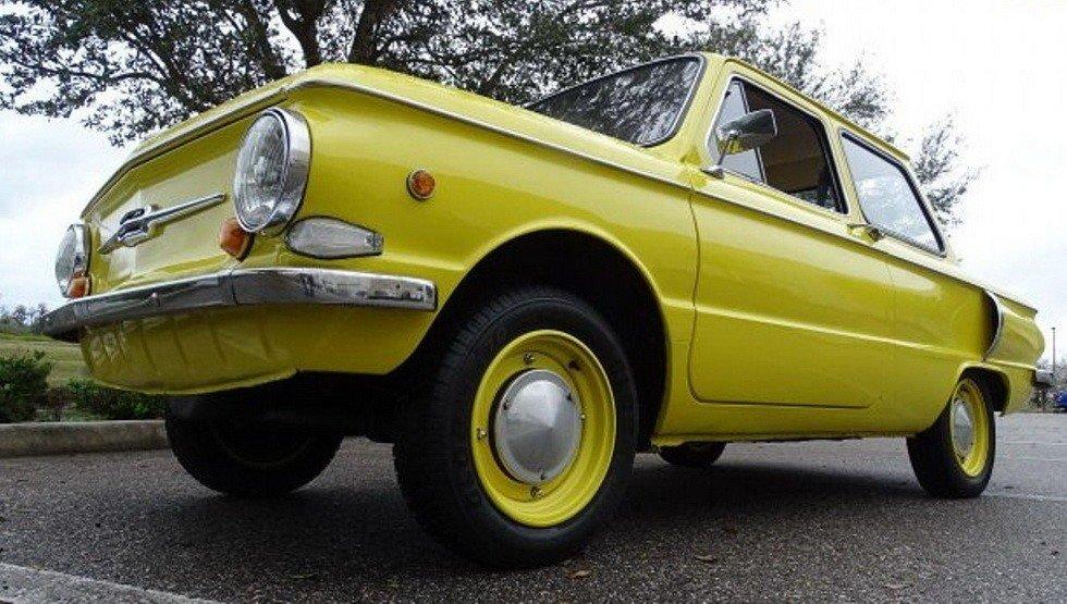ВСША реализуют «ушастого» ЗАЗ-968 1978 года выпуска сукраинским номером
