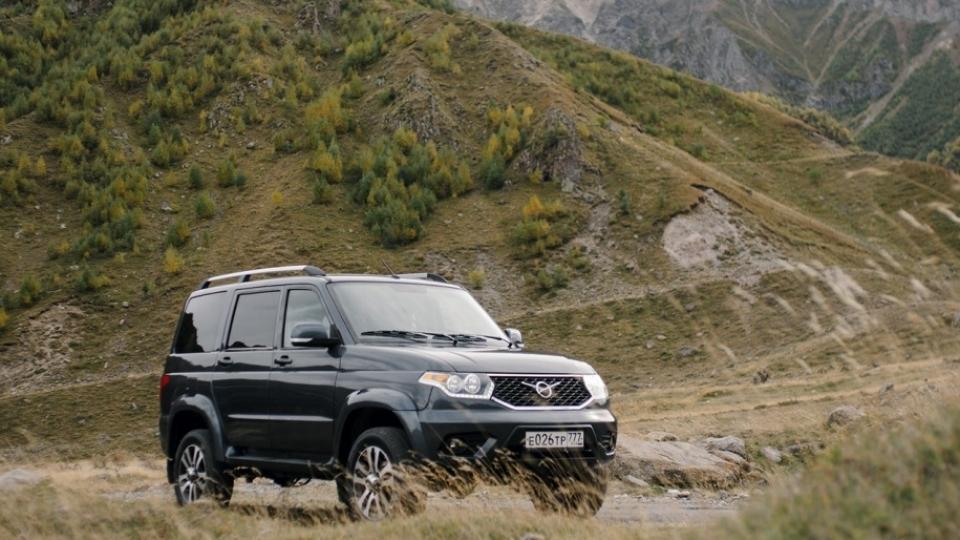 УАЗ рассказал о новом внедорожнике УАЗ «Патриот»