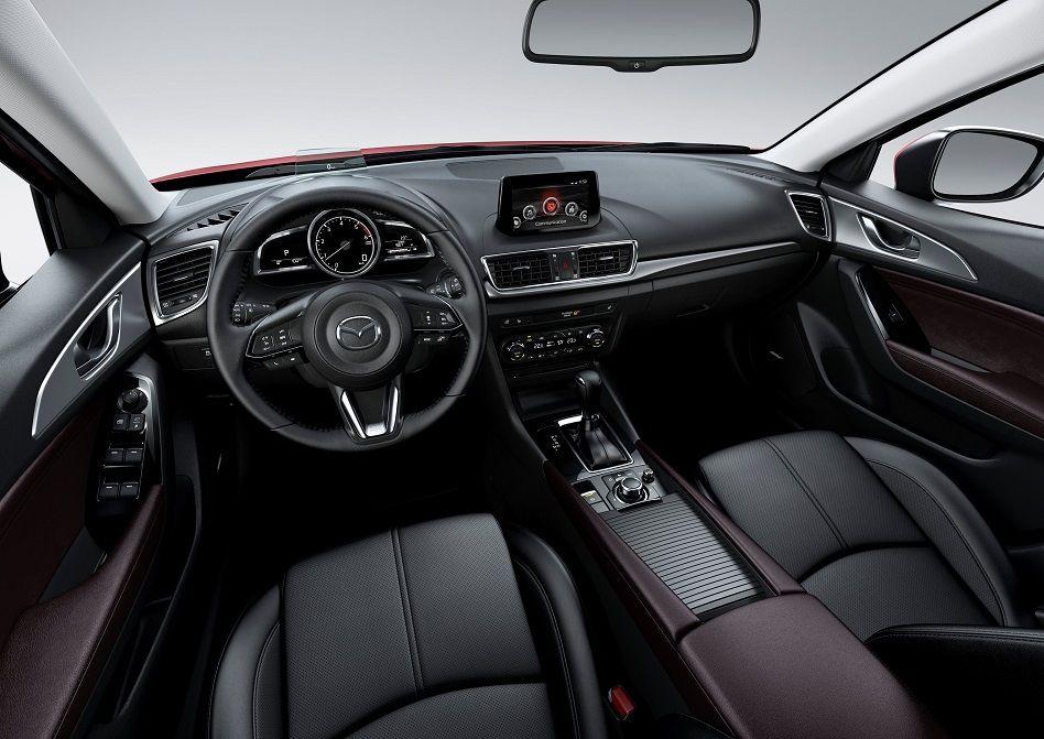 Стали известны полные комплектации обновлённой Mazda3 для Российской Федерации