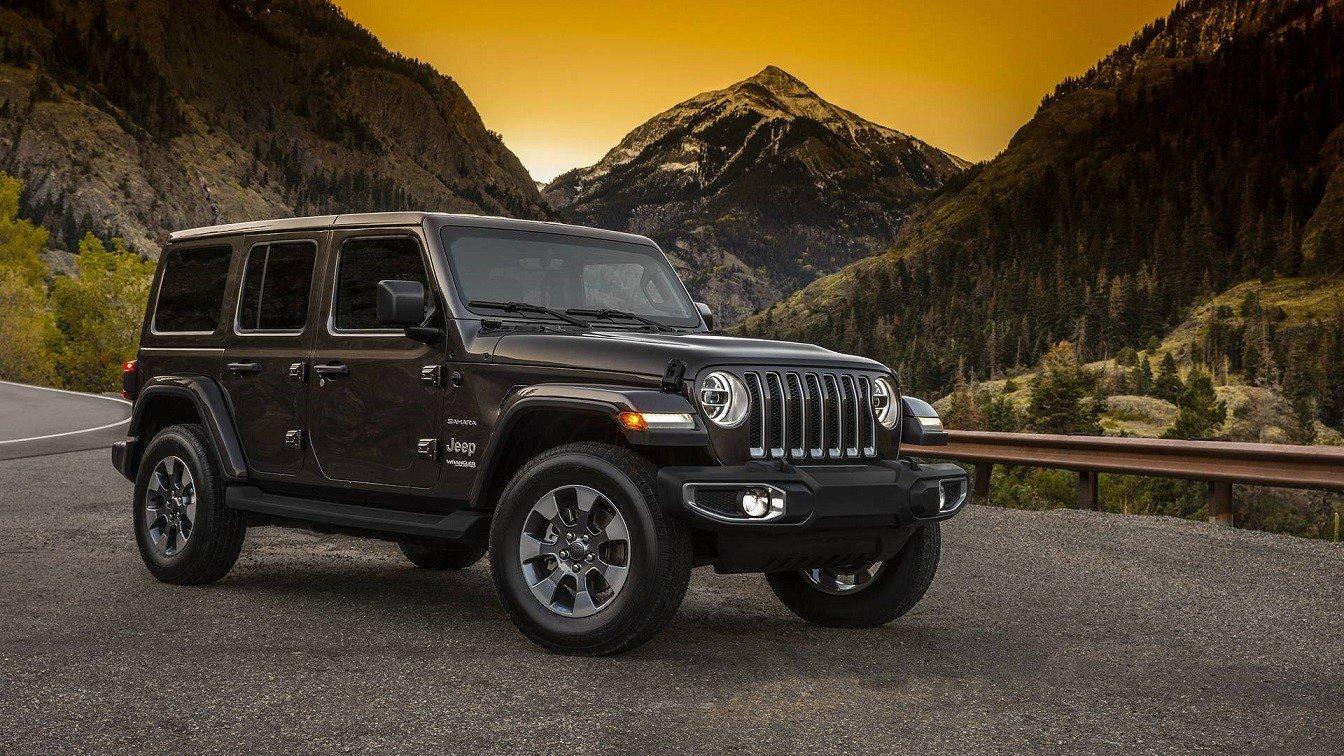 Представлен официальный дизайн нового Jeep Wrangler 2018