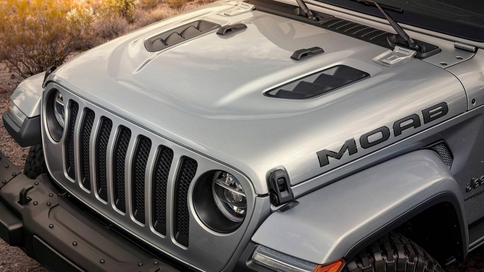 Компания Jeep презентует спецверсию джипа Wrangler Moab Edition
