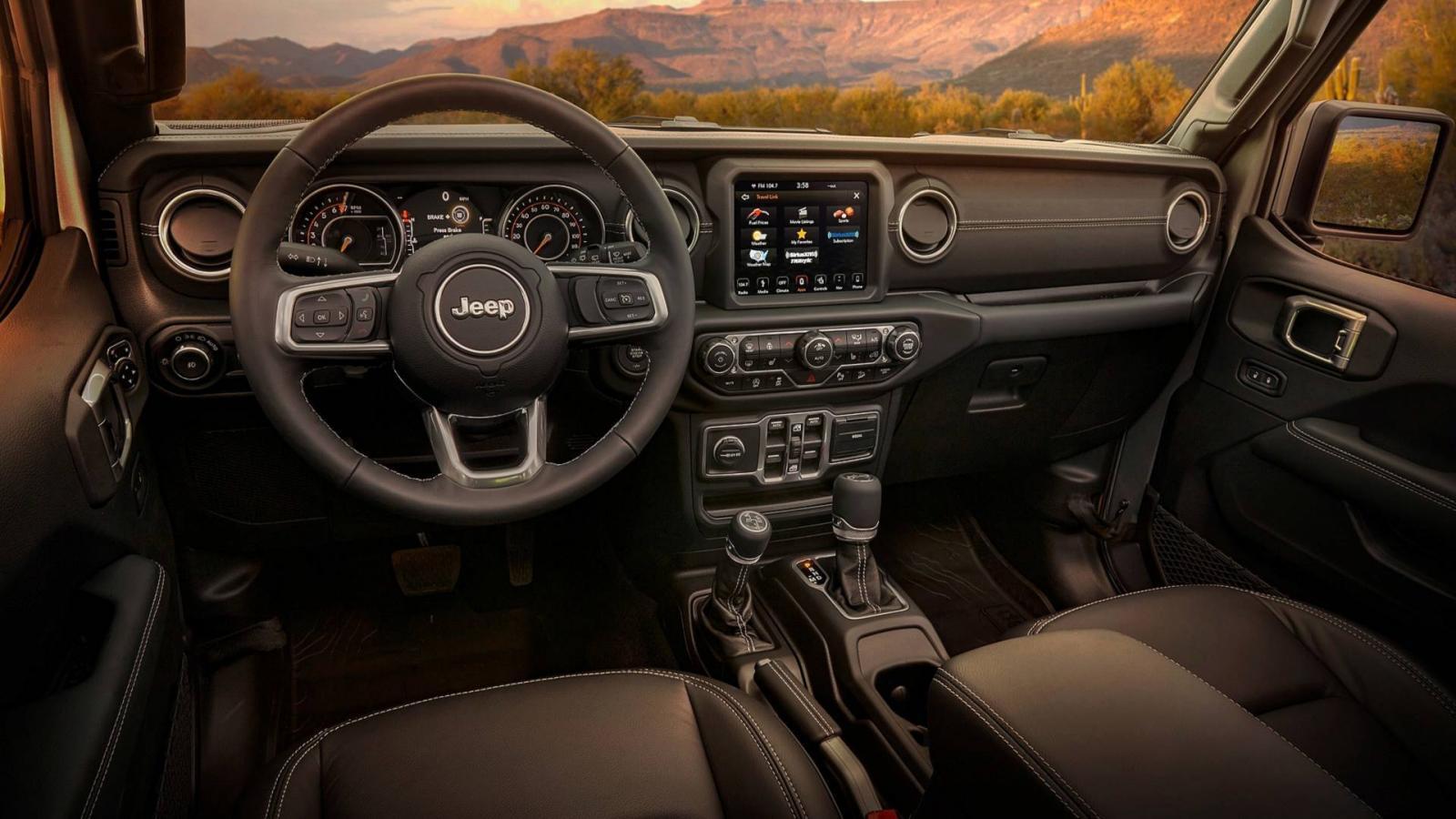 Представлен новый Jeep Wrangler Moab Edition