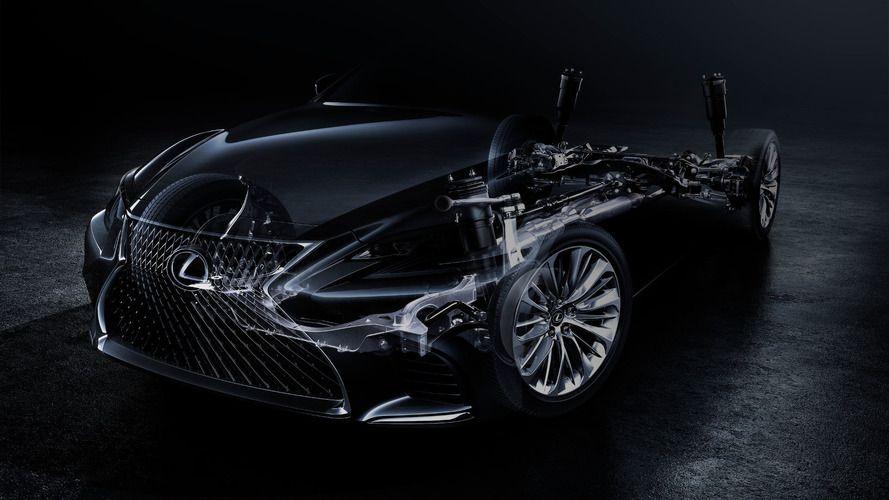 Стали известны новые детали огибридном двигателе Лексус LS500h