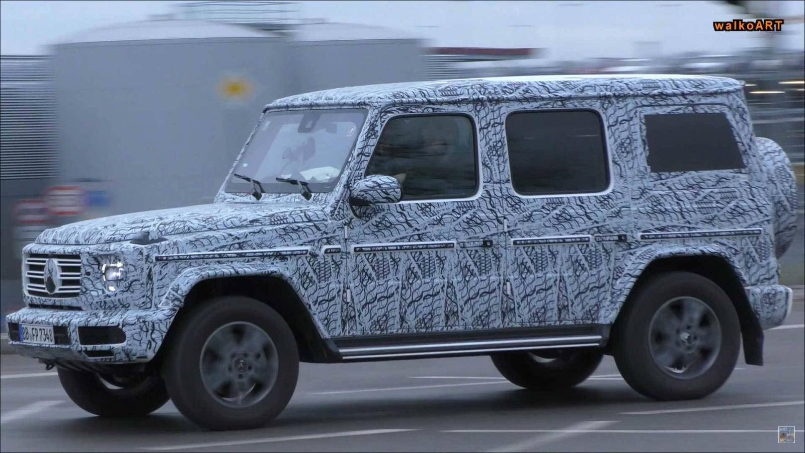 Benz G-Class обновленного поколения представят вДетройте 15января