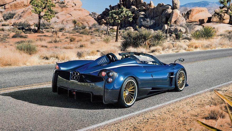 Самый новый родстер Pagani Huayra оказался легче ибыстрее купе