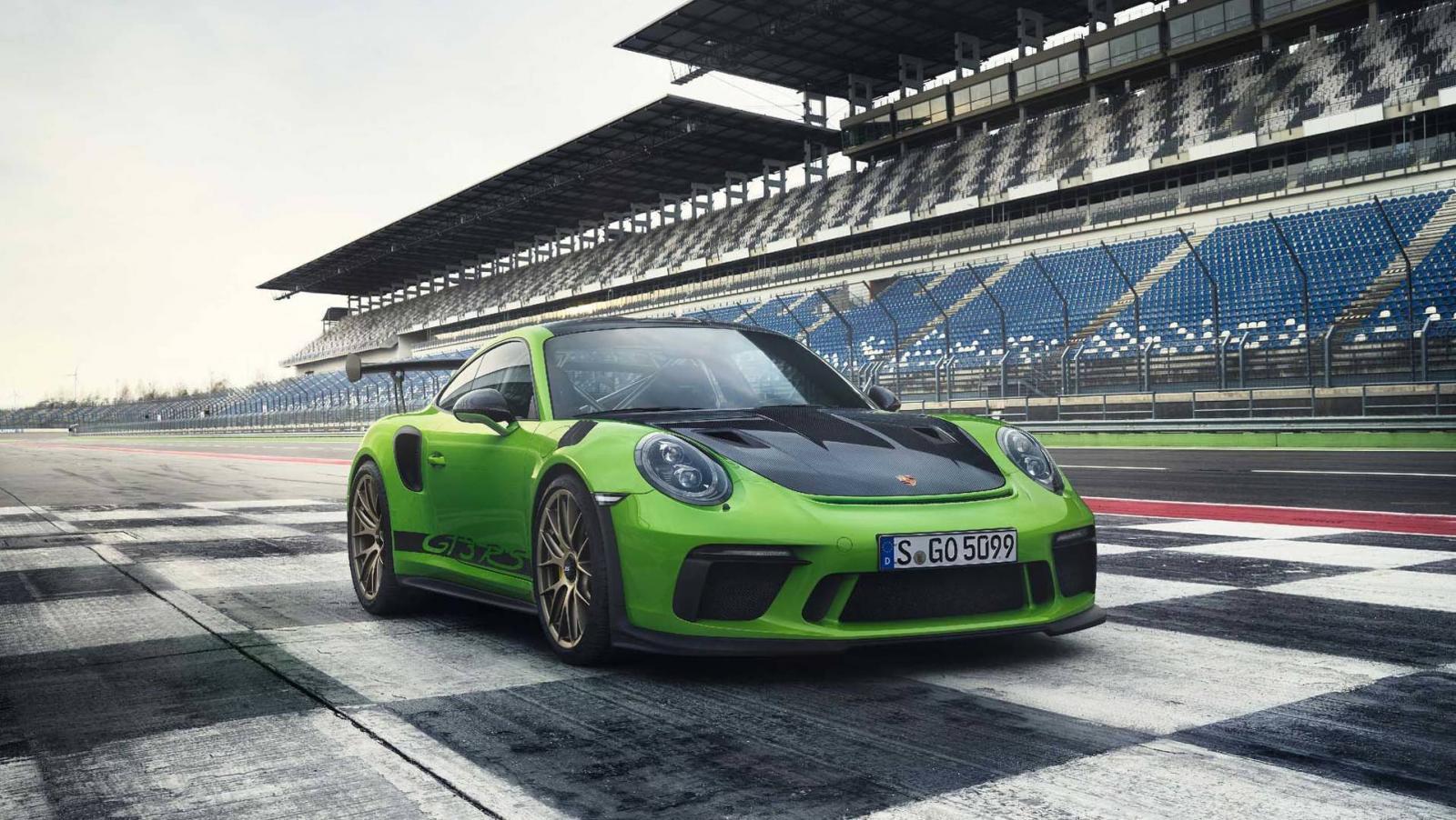 Порше продемонстрировал новый 520-сильный 911 GT3 RS