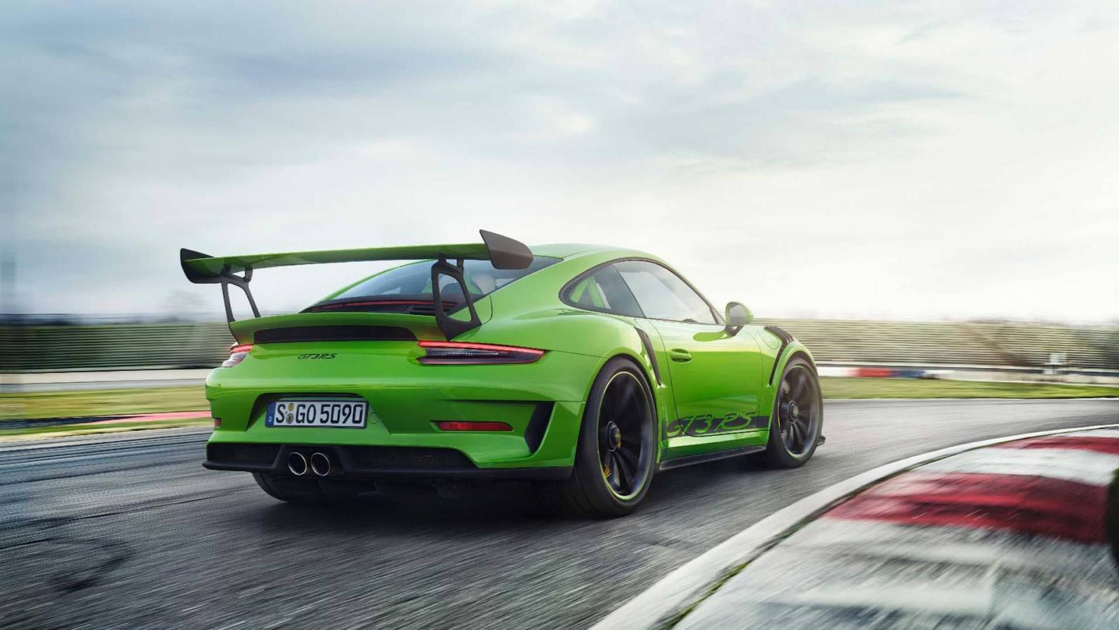 Состоялась официальная премьера спорткара Порше 911 GT3 RS