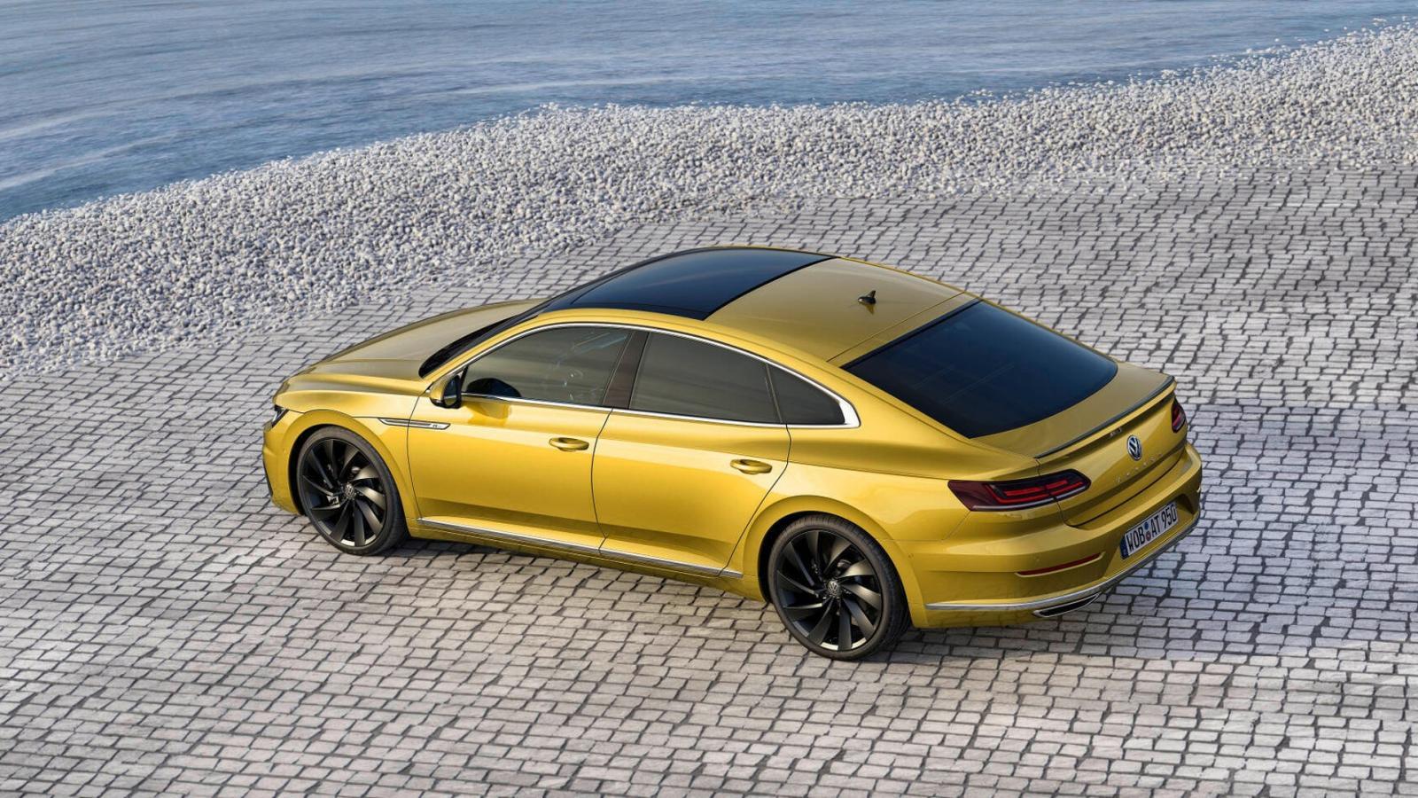 VW представил вЖеневе новый Arteon