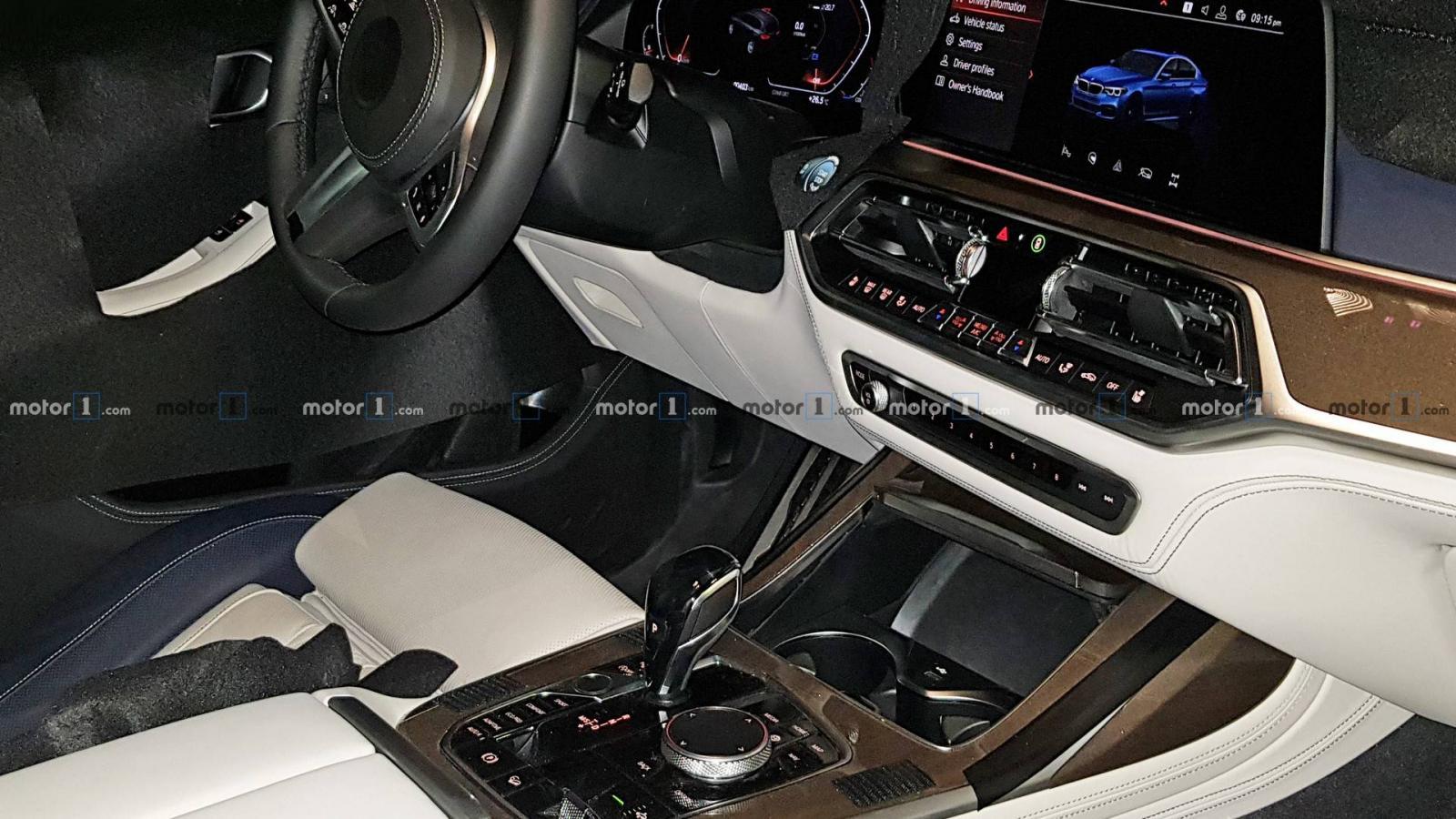 Фотошпионы показали интерьер нового кроссовера от BMW
