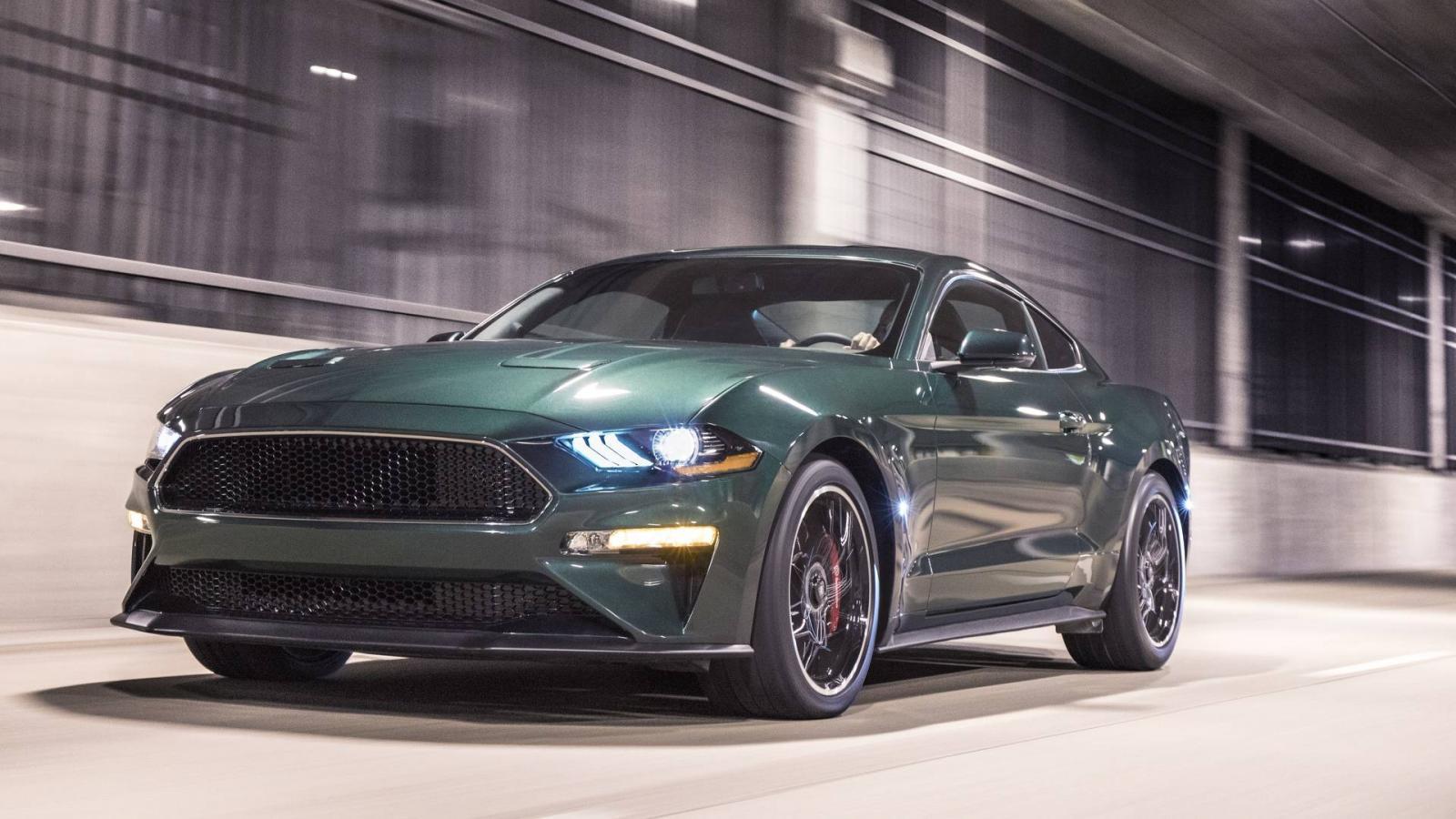 Форд вДетройте представила новейшую версию Форд Mustang Bullit