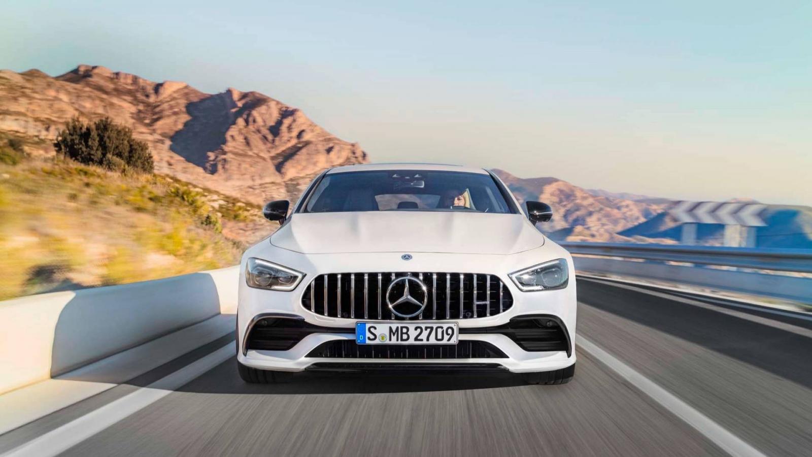 В Женеве представлено четырёхдверное купе Mercedes-AMG GT 4-Door Coupe