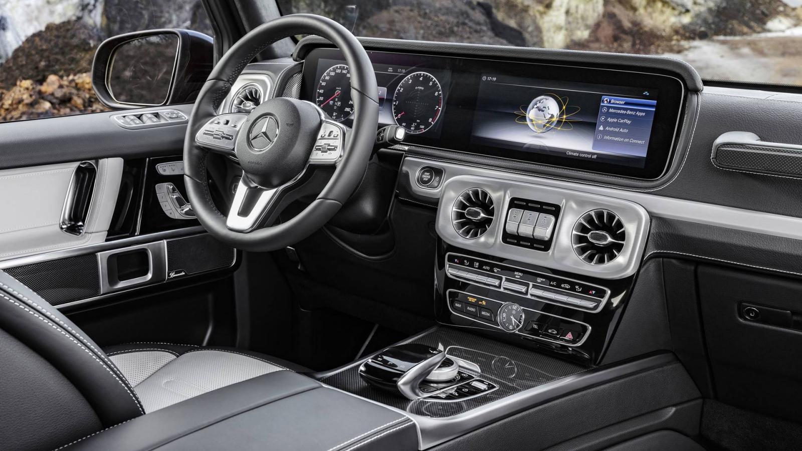 Новый Мерседес-Бенс G-Class засветился вСМИ нафото без камуфляжной защиты