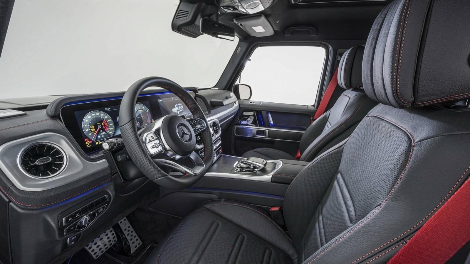 Представлен новый 500-сильный Мерседес-Бенс G-Class отBrabus