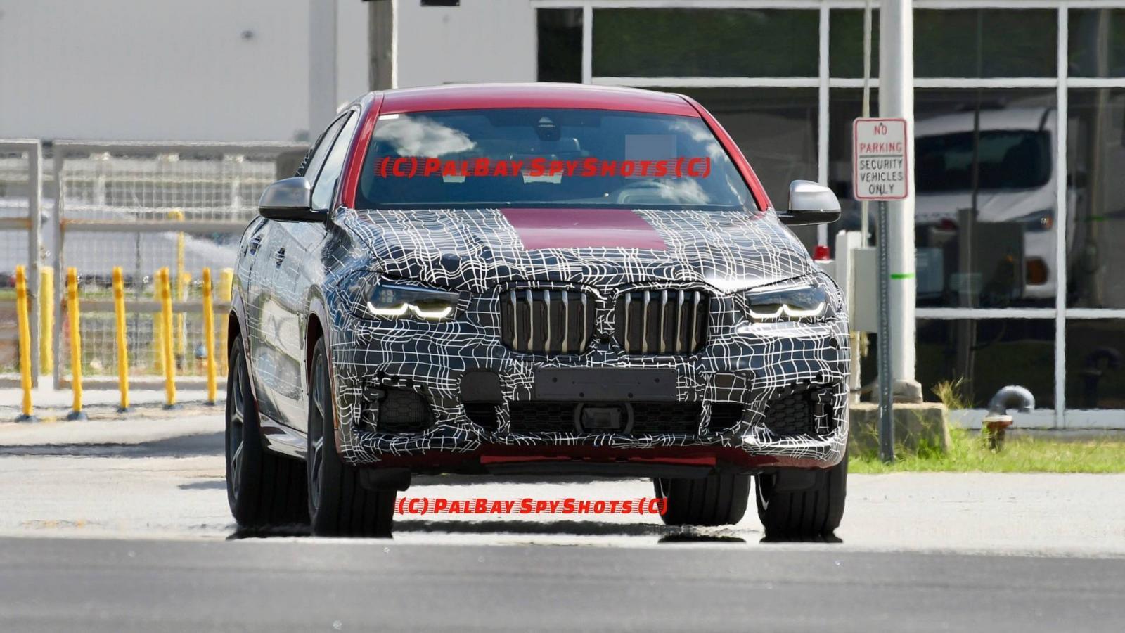 Натестах отмечено кросс-купе БМВ X6 нового поколения