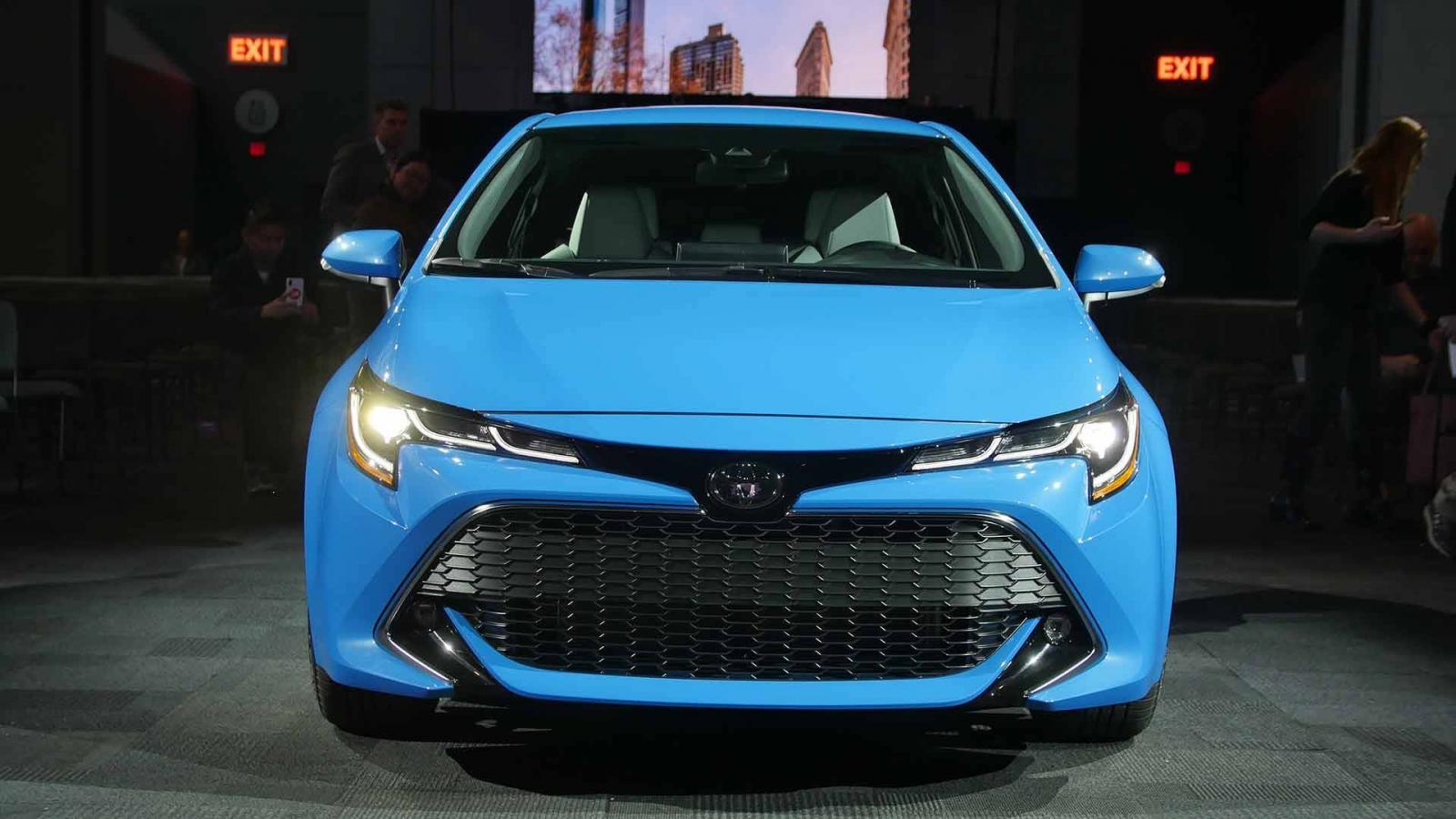 ВСША показали новую модель Toyota Corolla Hatchback 2018