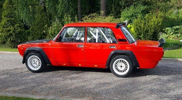 В Эстонии продают редчайшую Lada VFTS по бросовой цене