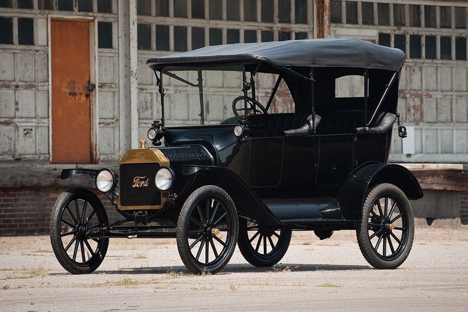 В российской столице выставили на реализацию легендарный Форд Model T1923 года