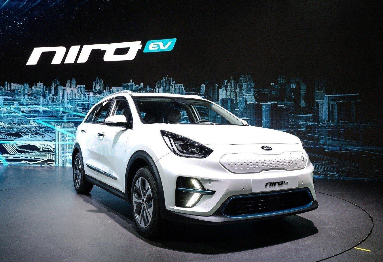 Компания Киа презентовала электрический кроссовер Niro EV
