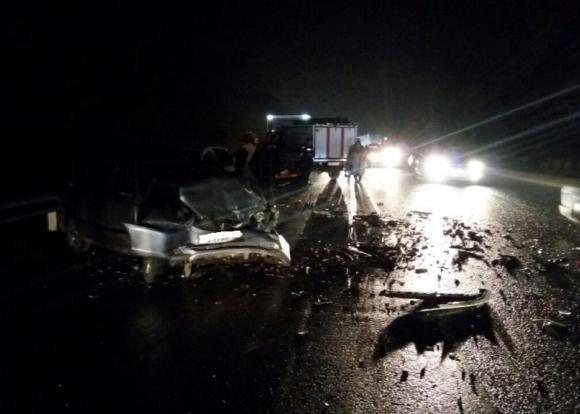 Шофёр иномарки умер, врезавшись вкрест натрассе Тимашевск— Полтавская