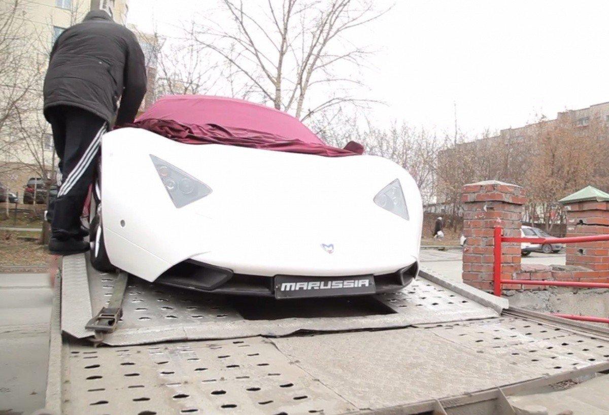 Компания изНовосибирска решила восстановить русские спорткары Marussia