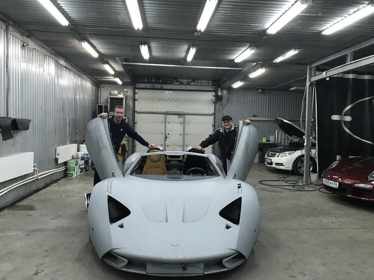 Новосибирские бизнесмены воскресят спорткары Marussia