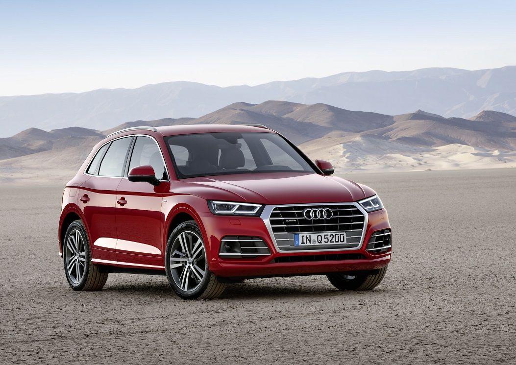 Компания Audi привезет в Париж новый кроссовер Q5