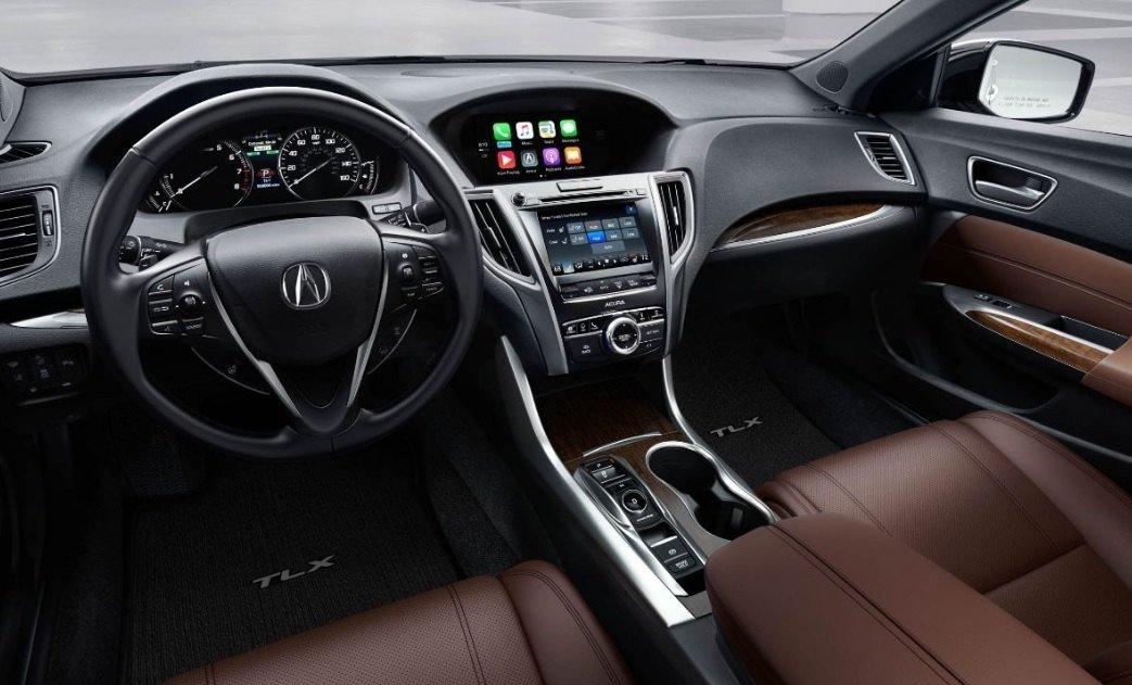 В Нью-Йорке представлен обновленный премиальный седан Acura TLX 2018