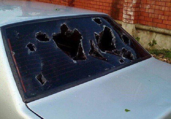 Десятки домов и авто пострадали отграда вМайкопе