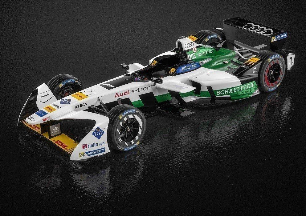 Ауди представила 1-ый заводской электромобиль для Формулы Е